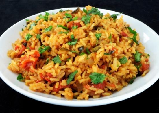 фото рецепт рис с овощами