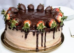 ставим торт в холодильник