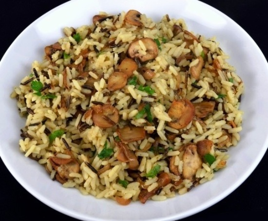 рис в мультиварке на гарнир с овощами