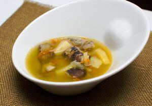 тушим суп еще 50 минут