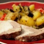 мясо в фольге в мультиварке
