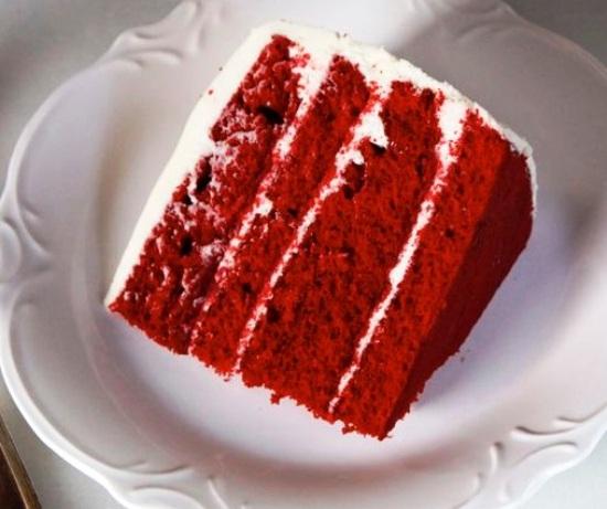 красный торт