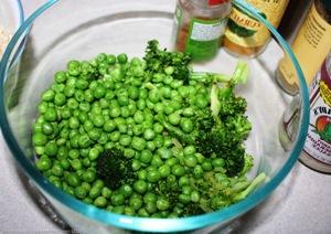 подготавливаем мороженные овощи