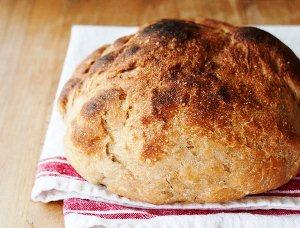 Доводим до готовности хлеб в духовке