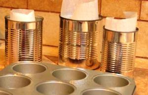 Готовим формы для выпекания