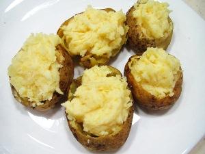 Фаршируем картошку