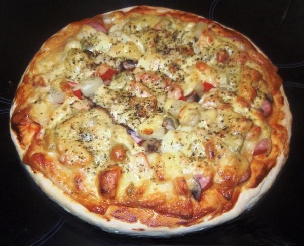 рецепты пиццы для мультиварки поларис с фото