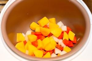 Овощное рагу с мясом в мультиварке фото рецепт Коломна
