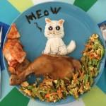 Кот на завтрак