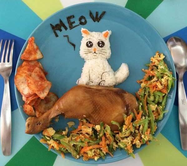 Кот на завтрак, или Что такое фуд арт? фото рецепт Коломна