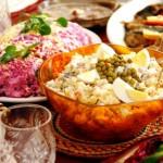 Популярные советские салаты
