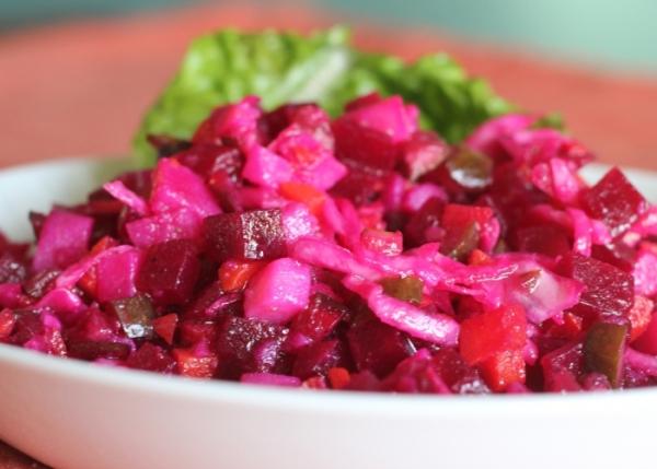 Простой популярный салат винегрет