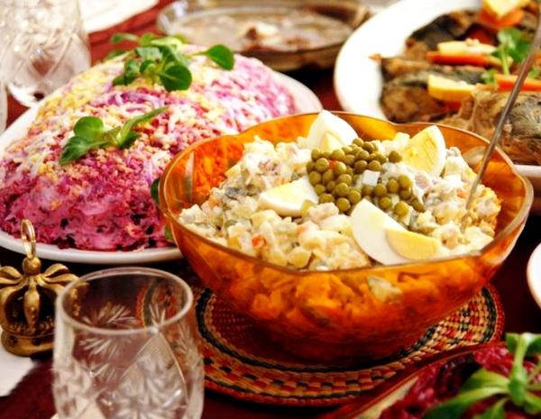 История 5-ти самых популярных салатов времен СССР