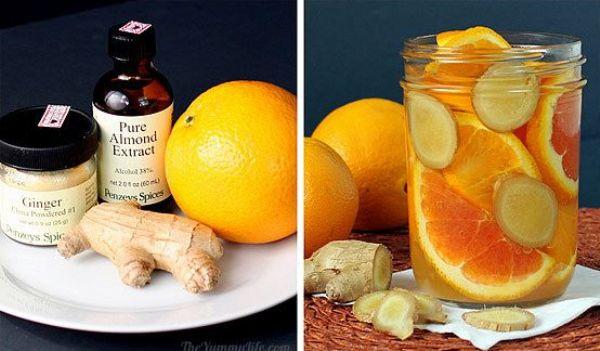 Имбирь и апельсин