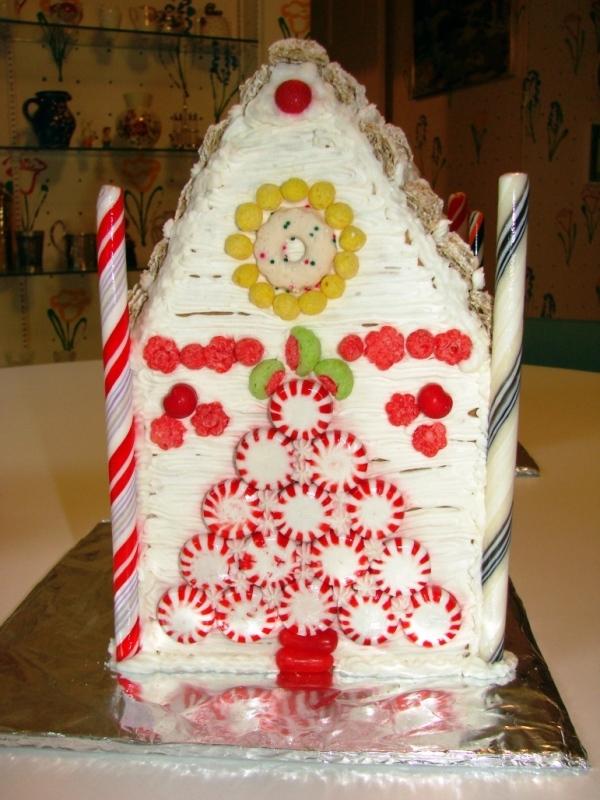торт домик рецепт с фото