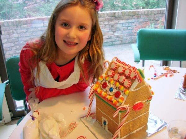 торт домик печенья творога фото