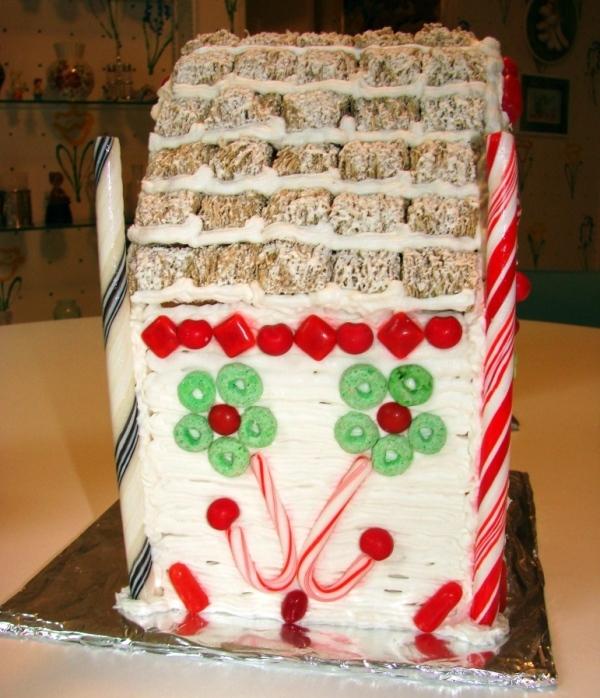 рецепт торта домик печенья творога