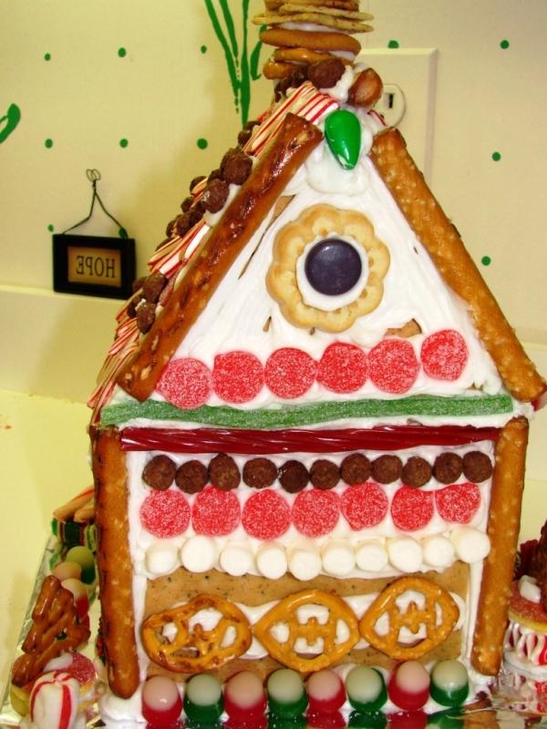 торт печенье творогом без выпечки домик