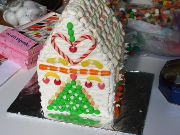 рецепт торта домик творожный