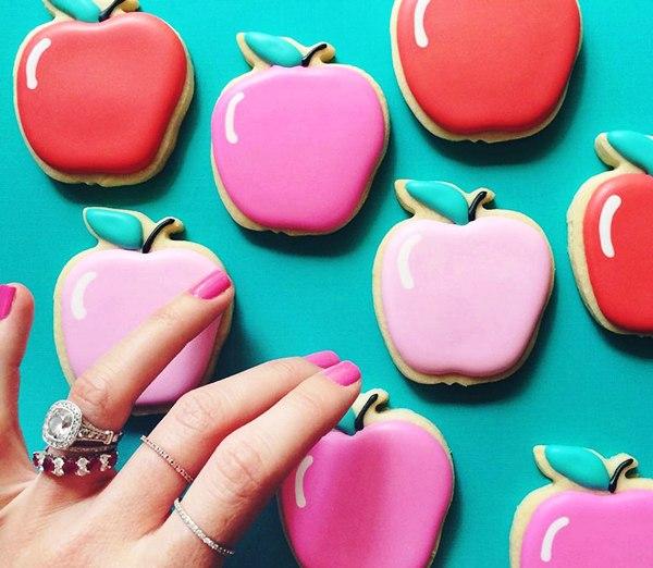 Самое красивое печенье