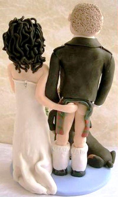 Фигурки на свадебный торт прикольные