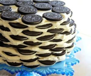 Рецепт торта из печенья и творога