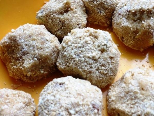 Пирожное картошка из печенья без какао