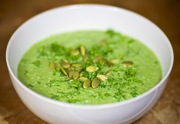 Суп пюре из шпината и кабачков фото рецепт Коломна
