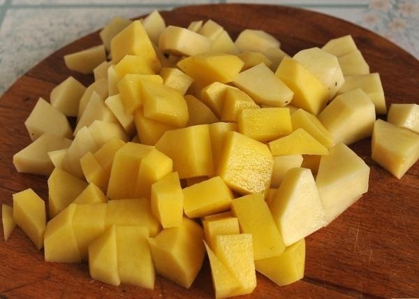 Картошку варите 25 минут