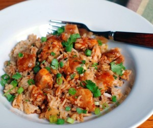 Рисовая каша с мясом в мультиварке