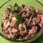 Салат с языком говяжьим рецепт с фото