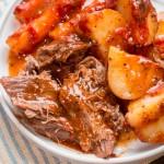Легкое блюдо с молодой картошкой