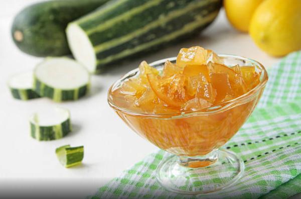 Варенье из кабачков с лимоном рецепт