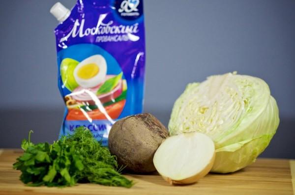 Салат из сырой свеклы рецепт с фото очень вкусный