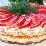 Салат нежность рецепт с фото