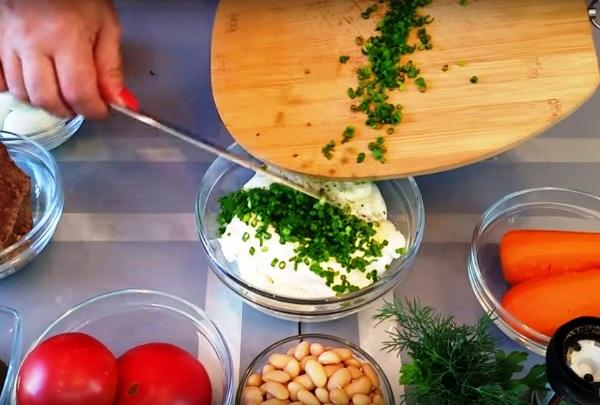 Салат нежность рецепт классический