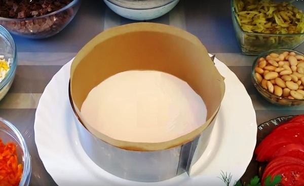 Нежность салат классический