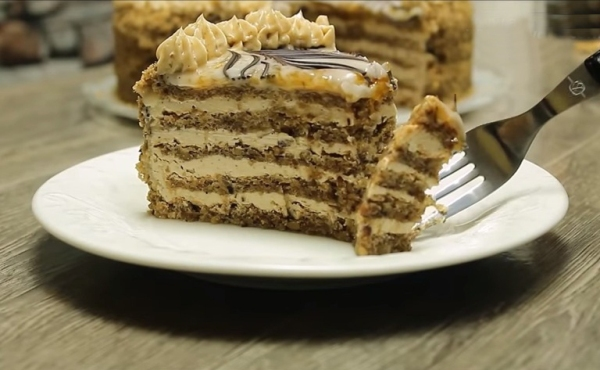 Домашний торт эстерхази