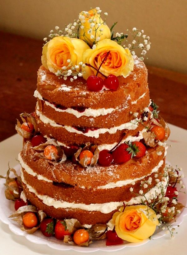 Голый торт фото
