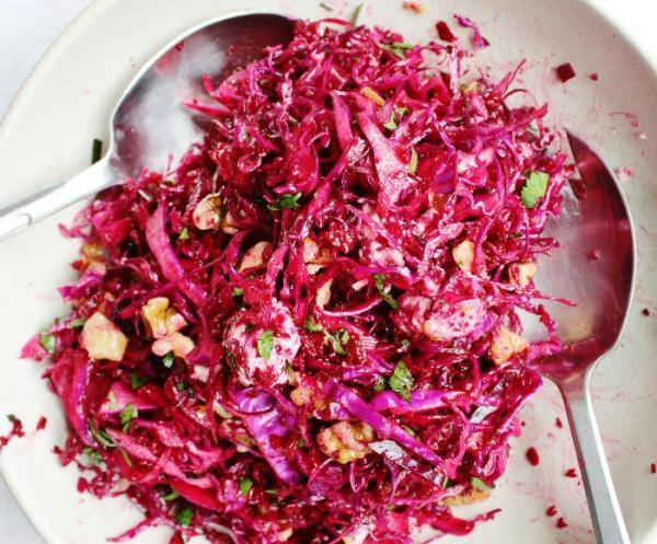 Салат из вареной свеклы
