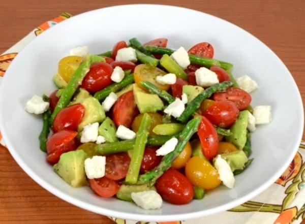 Салат из авокадо с сыром