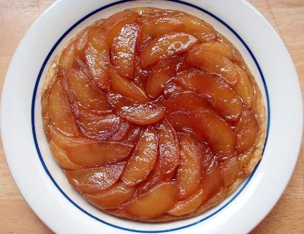 Французский Тарт Татен с яблоками