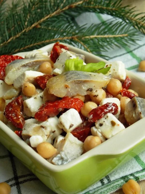 Салат с селедкой все рецепты