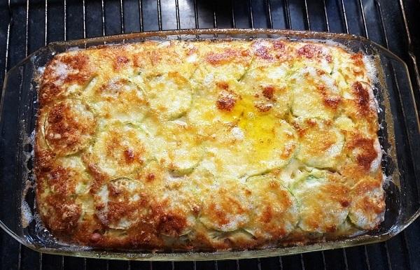 Рецепт кабачков с сыром и чесноком