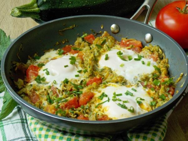 Яичница рецепт на сковороде