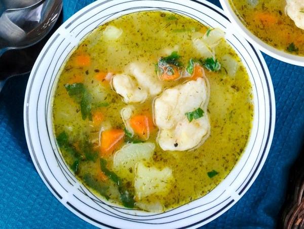 Клецки рецепт теста для супа