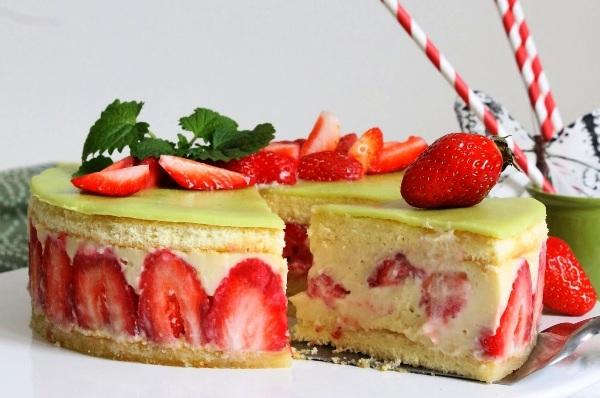 Французский торт фрезье рецепт с фото