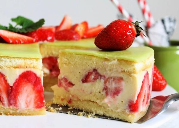 Торт фрезье классический рецепт