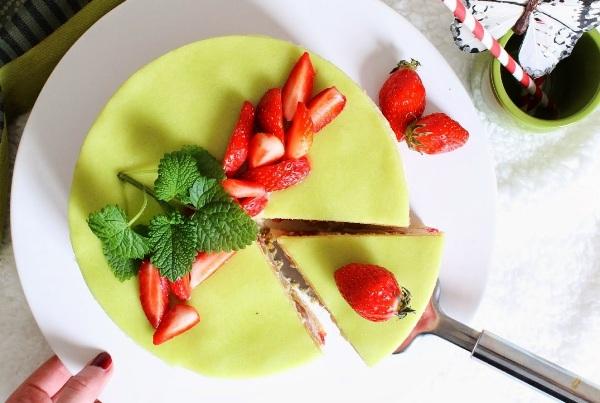 Рецепт торта фрезье с клубникой