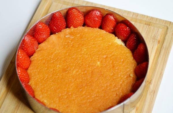 Французский торт фрезье